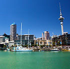 A view of the city of Auckland, which can be visited via a cheap flight from Flight Centre.